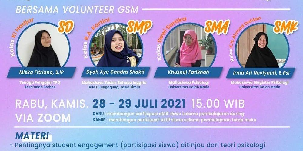 GSM Indonesia Kelas Perubahan